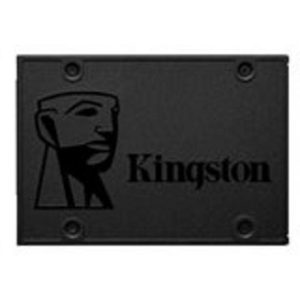 Oferta de Disco Sólido Kingston A400 120GB Sata III por 35€