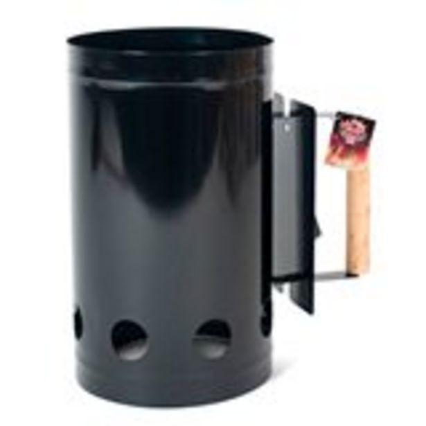 Oferta de Encendedor de carbón Host para barbacoa negro Ø17x27 cm por 5,99€