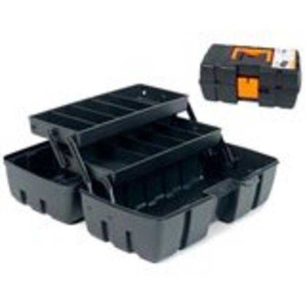 Oferta de Caja de herramientas Mini Ariel Antares 00347 negra por 5,99€
