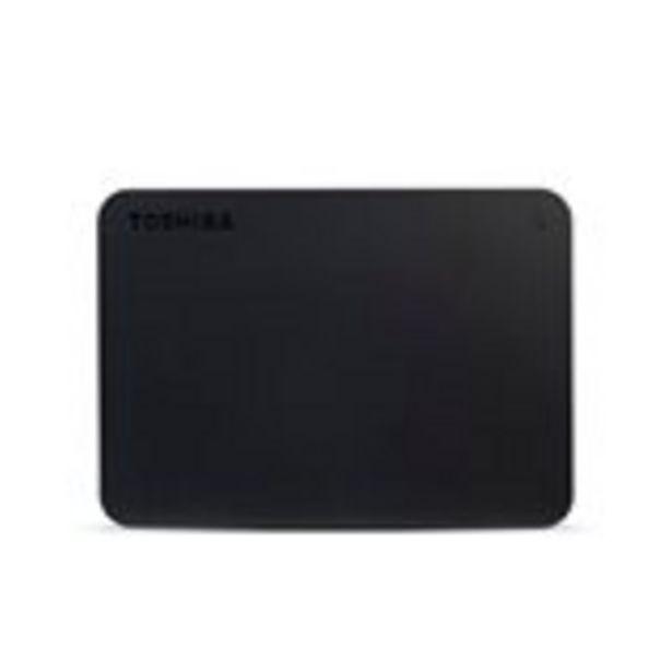 "Oferta de Disco duro externo Toshiba Canvio Basics 2.5"" 4TB USB 3.0 por 109€"