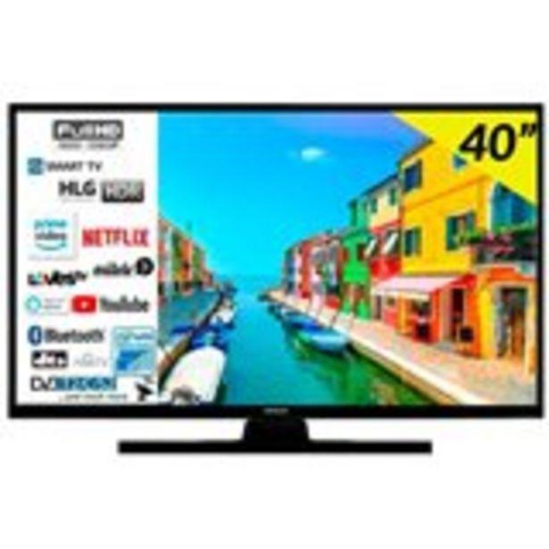 "Oferta de Televisor Smart TV Hitachi 40HE4200 40"" Full HD Wifi Bluetooth por 269€"