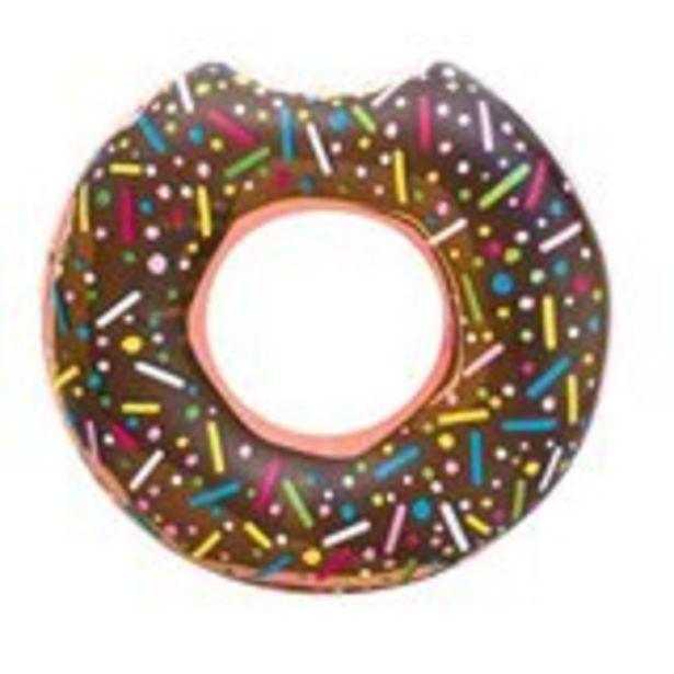 Oferta de Flotador donut Bestway Ø 107 cm marrón por 5,99€
