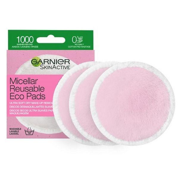 Oferta de Garnier skin active discos desmaquillantes reutilizables por 5,95€