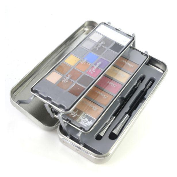 Oferta de Markwins hello beautiful estuche metalico de maquillaje de ... por 8,95€