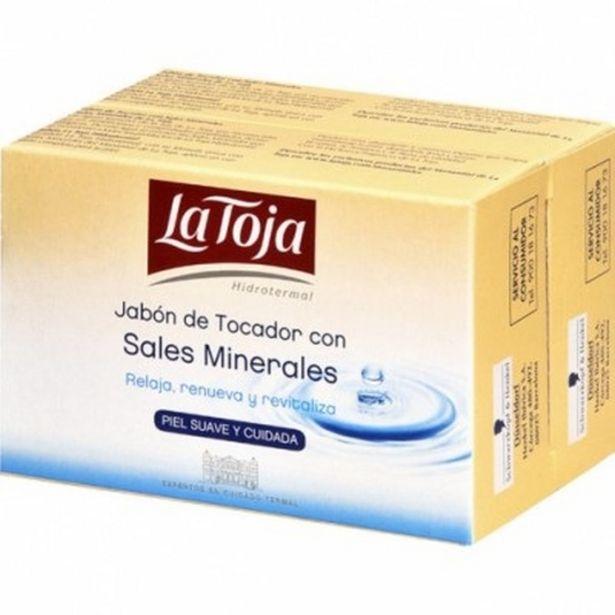 Oferta de La toja pastilla de jabon de tocador con sales minerales du... por 1,85€