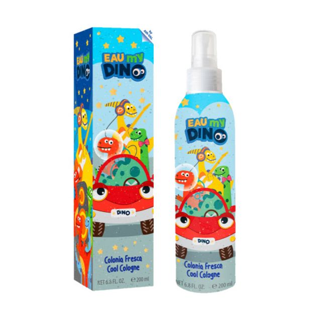 Oferta de Eau my dino colonia fresca para niños spray 200ml por 3,99€