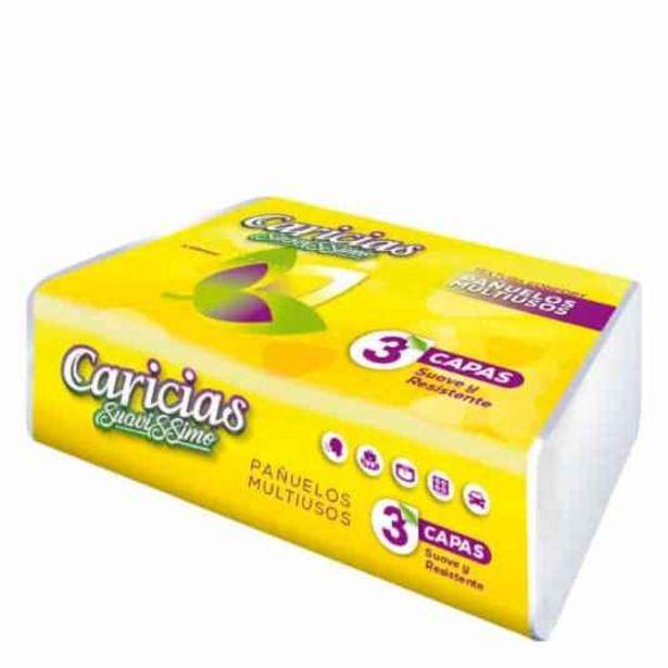 Oferta de Pañuelos caricias suavissimo 100 unidades por 0,79€