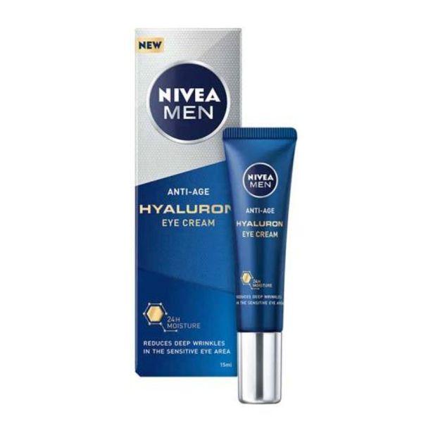 Oferta de Nivea men hyaluron contorno de ojos antiedad 15ml por 7,99€