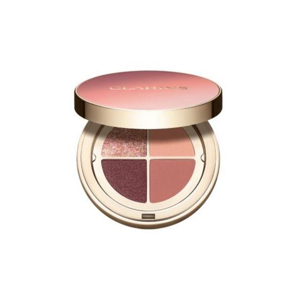 Oferta de Clarins paleta de sombra de ojos 4 colores por 33,95€