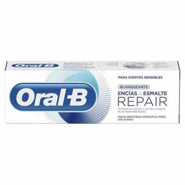 Oferta de Oral b encias y esmalte repair pasta de dientes blanqueante... por 3,55€