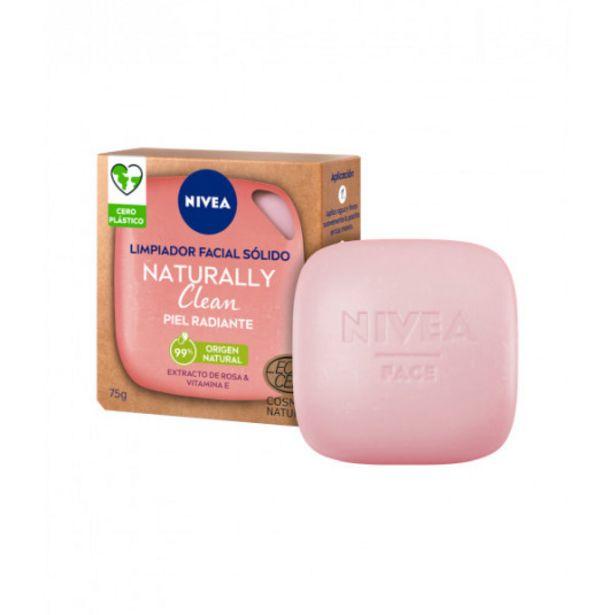 Oferta de Nivea naturally clean limpiador facial solido piel radiante... por 5,45€