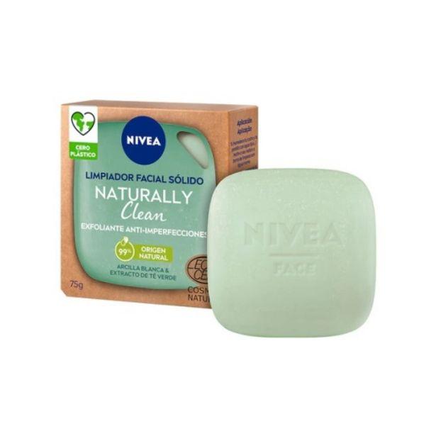 Oferta de Nivea naturally clean limpiador facial solido exfoliante an... por 5,45€