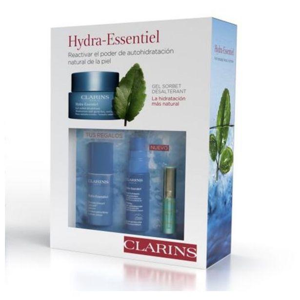 Oferta de Clarins hydra-essentiel gel sorbet n/m 50ml set 3 piezas por 32,95€