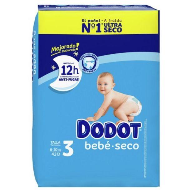 Oferta de Dodot etapas pañal talla 3 (6-10 kg) 42 unidades por 9,95€