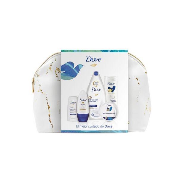 Oferta de Dove woman neceser cuidado corporal mujer 5 piezas por 9,95€
