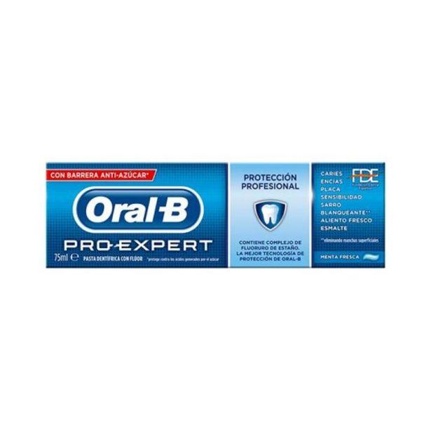 Oferta de Oral-b pasta dentifrica pro-expert proteccion profesional 75ml por 2,95€
