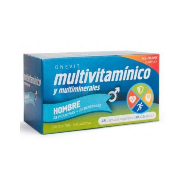 Oferta de Onevit complemento alimenticio multivitaminico hombres 45 c... por 5,95€