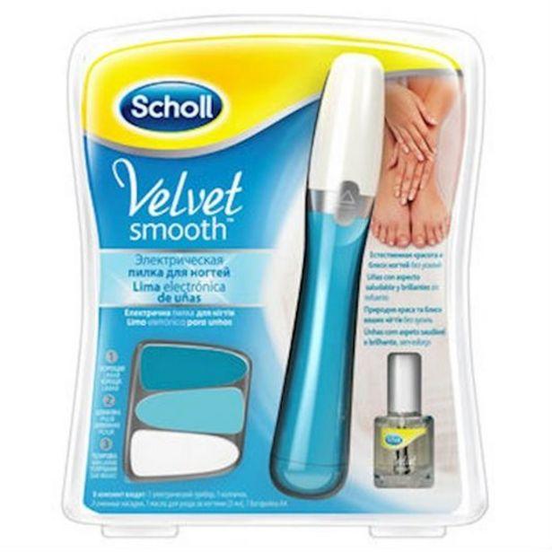 Oferta de Dr scholl velvet smooth lima de uñas electrica + aceite por 19,98€