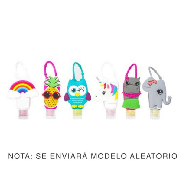 Oferta de Muñecos gel de manos colgante para cartera o mochila surtid... por 1,99€