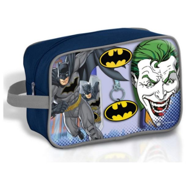 Oferta de Batman neceser baño edt 90ml gel 300 ml+llave por 9,95€