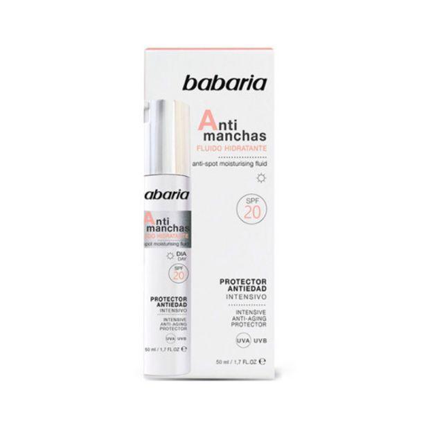 Oferta de Babaria antimanchas fuido hidratante spf20 50ml por 3,99€