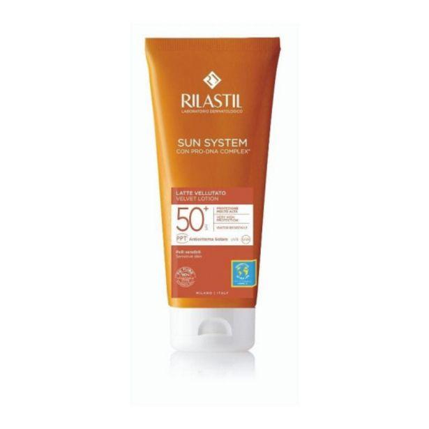 Oferta de Rilastil sun system spf50+ baby leche velluto 200ml por 15,95€