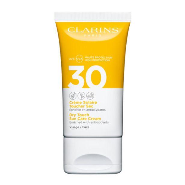 Oferta de Clarins protector solar facial tacto seco spf30 50ml por 18,95€