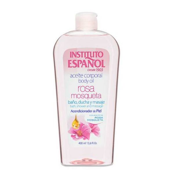 Oferta de Instituto español aceite corporal de rosa mosqueta 400ml por 2,99€