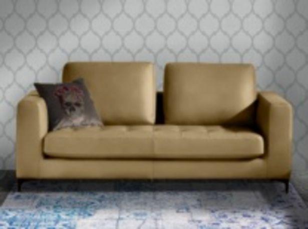 Oferta de Sofá acabado tapizado en piel por 1474€
