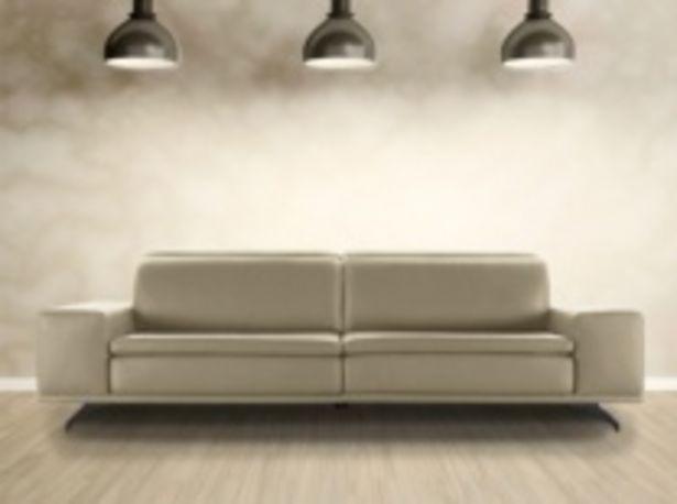 Oferta de Sofá acabado tapizado en piel por 2112€