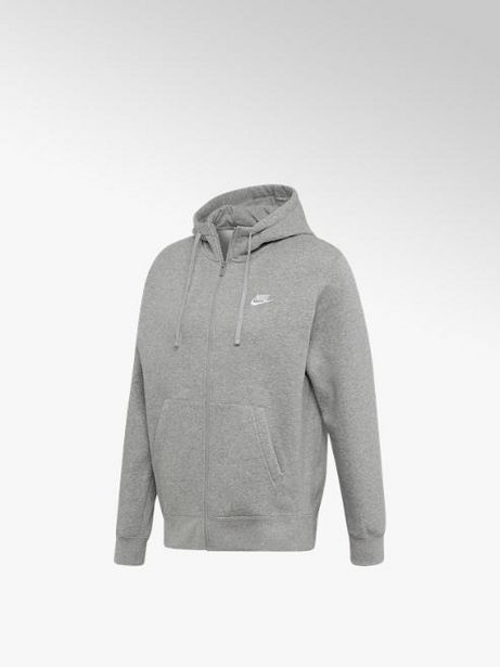 Oferta de Nike Chaqueta con cremallera NIKE CLUB HOODIE FZ por 27,49€