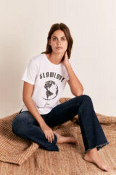 Oferta de Camiseta cuello caja planeta por 9,99€