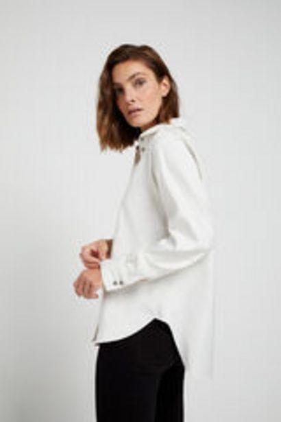 Oferta de Camisa detalle arruga por 12,99€