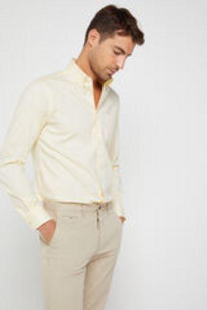 Oferta de Camisa lisa algodón extra suave Easy care por 17,99€