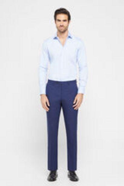 Oferta de Pantalón pata de gallo tailored fit por 19,99€