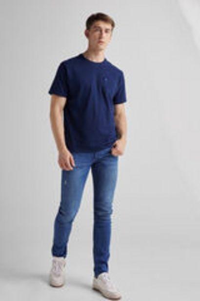 Oferta de Pantalón Denim Slim Lifeway por 17,99€