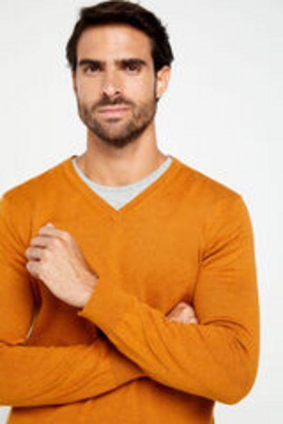 Oferta de Jersey cuello pico por 17,99€