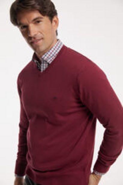 Oferta de Jersey cuello pico por 29,99€