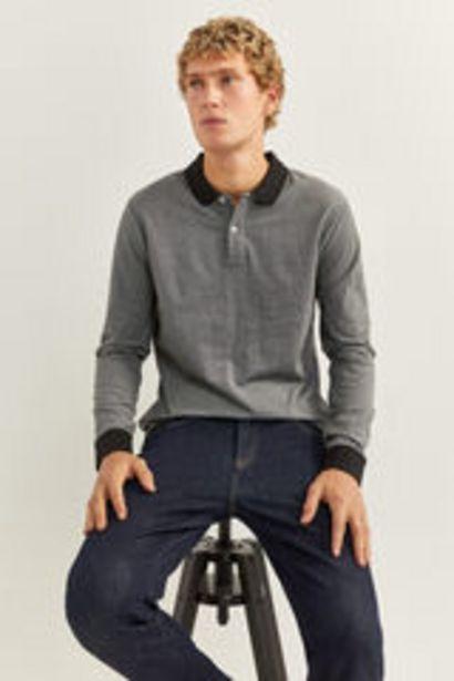 Oferta de Camiseta manga larga textura por 5,99€