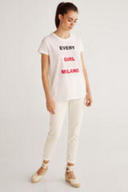 Oferta de Camiseta texto por 3,99€