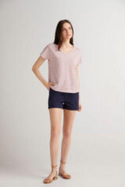 Oferta de Camiseta escote pico por 5,99€