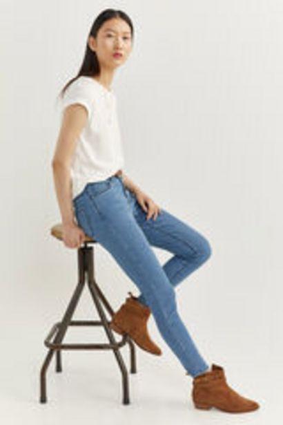 Oferta de Jeans Slim Cropped por 5,99€