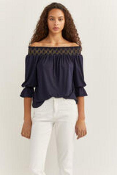 Oferta de Camiseta lúrex zig-zag por 3,99€