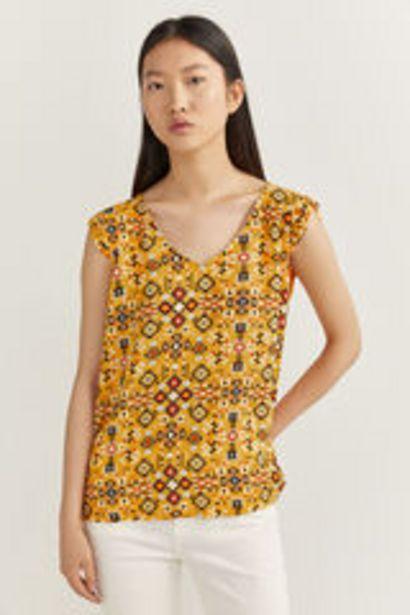 Oferta de Camiseta Estampado Geométrico por 3,99€