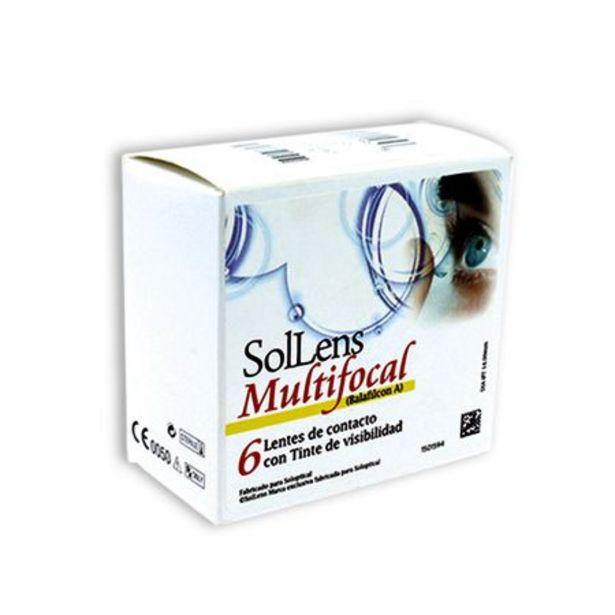 Oferta de Sol-lens Multifocal 8.6 (6 lentillas) por 49,5€