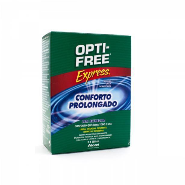 Oferta de Pack Solución desinfectante Multi-acción Opti-Free Express por 20€