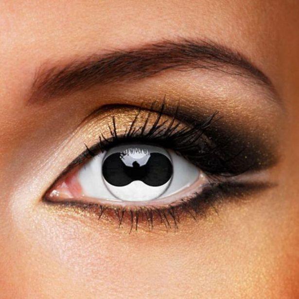 Oferta de ColourVue Crazy Split Eyes 3M (2 lentillas) por 25€