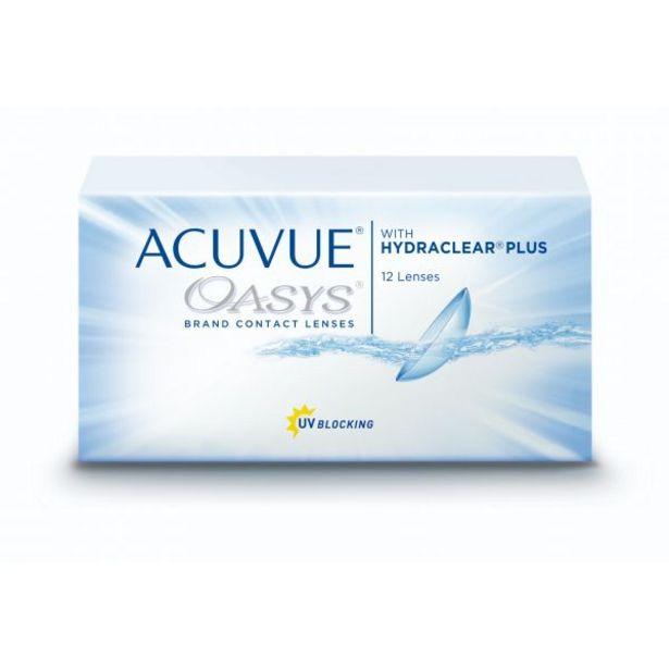 Oferta de Acuvue Oasys (12 lentillas) por 55€