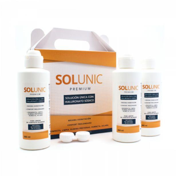 Oferta de SolUnic Premium Pack 3 Líquidos por 15€
