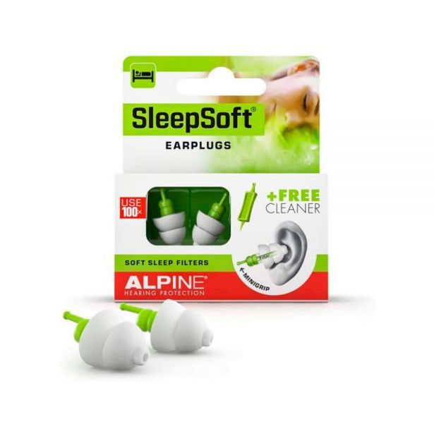 Oferta de Tapones Alpine Standard Sleepsoft por 20€